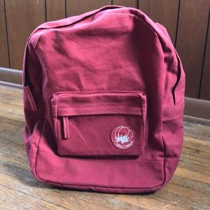 Terra Thread Red Backpack